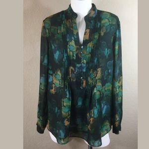 Coldwater Creek Blouse Size Large